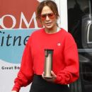 Jennifer Lopez in Spandex – Leaving the gym in Miami