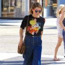 Sasha Alexander shopping with a friend in Beverly Hills June 23, 2017