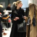 Amber Heard – Arrives at Charles de Gaulle Airport in Paris