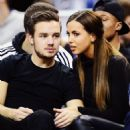 LIAM PAYNE & SOPHIA SMITH AT NBA GAME (January 16) - 454 x 545