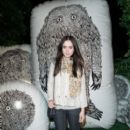 Lily Collins was spotted at the Mulberry Firepit Party at Day 1 of the Coachella Music Festival in Indio, CA, April 13