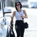 Lucy Hale – Seen outside a gym in Studio City