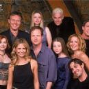 The Creator Joss Whedon and the cast of the Buffy the Vampire Slayer (1997)