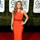 Amy Adams At The 73rd Annual Golden Globe Awards (2016)