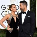 Ryan Reynolds and Blake Lively : 74th Annual Golden Globe Awards - 366 x 550