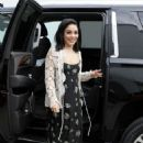 Vanessa Hudgens and Jennifer Lopez – Arriving at Univision's Despierta America morning show in Miami