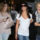 Lea Michele: Arriving in paris