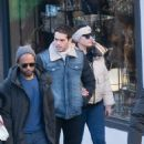 Kelly Brook – Out for shopping in ski-resort Megeve