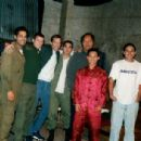 In this photo from left to right: Pablo Espinosa, Corin Nemec, Unknown, Unknown, Manu Tupou, Ernie Reyes Jr, Santino Ramos - 423 x 305