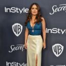 Salma Hayek – 2020 InStyle and Warner Bros Golden Globes Party in Beverly Hills
