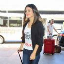 Victoria Justice Seen Arriving at LAX