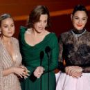 Brie Larson, Sigourney Weaver, and Gal Gadot At The 92nd Annual Academy Awards - Arrivals - 454 x 311