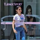 Lucy Hale – Arrives to the salon in Los Angeles