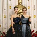 Marion Cotillard and Kate Winslet in Oscar´s.