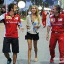 Kapustina @ Singapore Grand Prix 2014 - 454 x 302