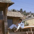 Brenda Benet is Lovingly Held By Husband Bill Bixby at Their Home