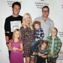 Tori Spelling and her family attending at various events through the years - 454 x 612