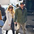 Avril Lavigne and Phillip Sarofim – Leaving SiriusXM Radio in New York City - 454 x 614