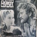 Silvana Mangano - Radio Cinéma Télévision Magazine Cover [France] (21 November 1954)