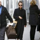 Alicia Vikander Travel Style – JFK Airport in New York City 03/06/2019 - 454 x 538