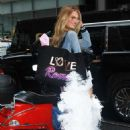 Romee Strijd – Seen Arriving at the Victoria's Secret fitting in New York - 454 x 681