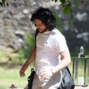 Rose Leslie and Kit Harington – Having lunch at Wardhill Castle in Aberdeen