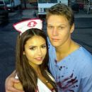 Nina Dobrev and Zach Roerig