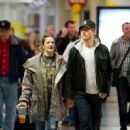 Drew Barrymore And Will Kopelman At LAX