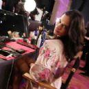 Adriana Lima – Victoria's Secret Fashion Show Backstage 2017 in Shanghai