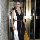 Melissa Benoist – Seen outside NBC Studios in NYC