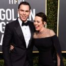Nicholas Hoult and Olivia Colman At The 76th Golden Globe Awards (2019) - 420 x 600
