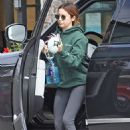 Ashley Tisdale -at a gym for a morning workout in LA
