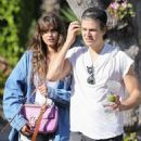 Taylor Hill and Daniel Fryer – Stop by the Urth cafe with their pooch in Los Angeles