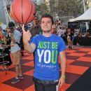 Josh Hutcherson hosting the Second Annual Josh Hutcherson Celebrity Basketball Game in Los Angeles (August 9)