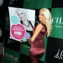 Holly Madison seen celebrating her FHM Magazine Feature at the Paris Casino in Las Vegas