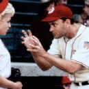 Tom Hanks as Jimmy Dugan and Bitty Schram as Evelyn Gardner in A League of Their Own (1992)