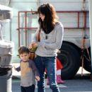 Selma Blair is seen at the farmer's market in Studio City CA January 4,2015