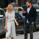 Actress Diane Kruger and Joshua Jackson spotted out for an evening stroll in New York City, New York on June 8, 2015 - 454 x 577