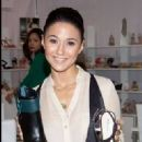 Emmanuelle Chriqui: attended the MAGIC Market Week in Las Vegas and the 6th Annual Hollywood Domino Gala & Tournament in Los Angeles