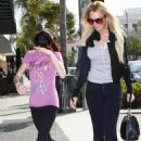 Lindsay Lohan - Goes To Lunch At La Scala Restaurant In Beverly Hills, 2008-02-01