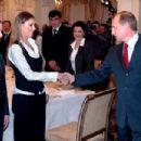 Vladimir Putin and Alina Kabaeva