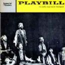 Playbill From The 1963 Broadway Production Of