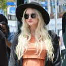 Ashlee Simpson At Bel Bambini In Los Angeles