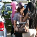 Blac Chyna and Her Friends Have Lunch in Calabasas - June 13, 2013