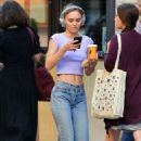 Lily-Rose Depp in a Crop Top – Out in NY