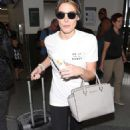 Ashley Greene – Arriving at the Los Angeles International Airport
