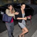 Gal Gadot at Mr. Chow Restaurant in Beverly Hills - 454 x 559