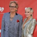 Musician Matt Sorum and Ace Harper attend the MusiCares MAP Fund Benefit Concert at Club Nokia on May 12, 2014 in Los Angeles, California - 409 x 594