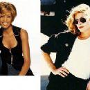 Whitney Houston and Kelly McGillis