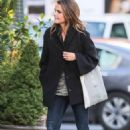 Keri Russell Street Style Out In Nyc